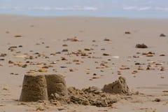 sandcastles Στοκ φωτογραφία με δικαίωμα ελεύθερης χρήσης