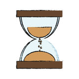 Sandclock icon image Royalty Free Stock Photos