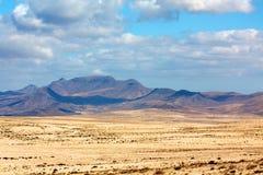 Sanddüne in der Kanarischen Insel Lizenzfreie Stockfotografie