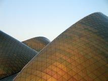 Sanddüne-Gebäude Stockfotografie