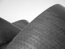 Sanddüne-Gebäude Stockbild