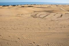 Sanddüne-Wüste Stockfotografie