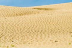 Sanddünebeschaffenheit Lizenzfreie Stockfotografie