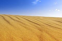 Sanddünehintergrund Stockfoto