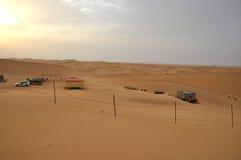 Sanddünen Abu Dhabi Lizenzfreie Stockfotos