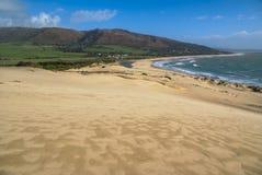 Sanddünen bei Punta de la Paloma, Andalusien, Spanien Stockfotografie