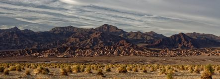 Sanddünen in Death Valley stockfoto