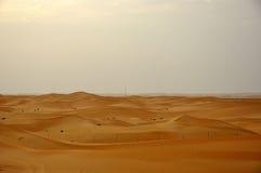 Sanddünen in der Wüste Lizenzfreies Stockfoto