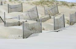 Sanddünen für Umgebung auf dem Strand lizenzfreie stockfotografie