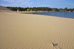 Sanddünen neben Silver Lake Stockbilder