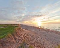 Sanddunes av prinsen Edward Island royaltyfria foton