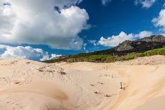 Sanddunes of Bolonia. Andalusia, Spain Stock Image