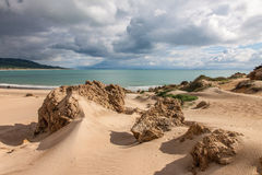 Sanddunes of Bolonia Stock Image