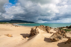 Sanddunes of Bolonia. Andalusia, Spain Royalty Free Stock Image