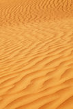 Sanddunes. Close up of a Sanddune in the UAE Royalty Free Stock Photo