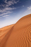 Sanddunes von Dubai Stockbild