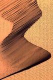 Sanddyn - fotoillustration Arkivfoton