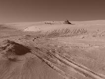 Sanddyn, Lancelin WA Royaltyfri Fotografi