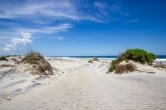 Sanddyn på yttre banker Arkivbilder
