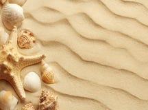 Sanddyn som bakgrund fotografering för bildbyråer