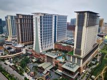Sande Cotai-Zentrale in Macao China stockbilder