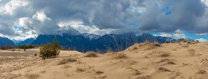 Sande der Charabanwüste Lizenzfreies Stockfoto