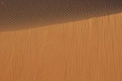 Sande von Arabien vom Vogelflug Lizenzfreies Stockbild