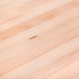 Sanded beech furniture board Stock Image