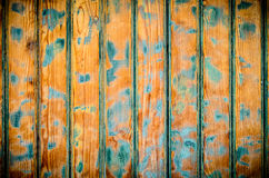 Sanded Painted Door Royalty Free Stock Images