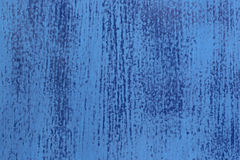 Sanded weathered blue surface Stock Photography