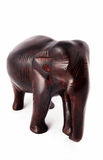 Sandelholzholzelefant Stockfoto