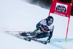 SANDELL Marcus nel gigante di Men's della tazza di Audi Fis Alpine Skiing World Immagine Stock