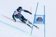 SANDELL Marcus nel gigante di Men's della tazza di Audi Fis Alpine Skiing World Fotografia Stock Libera da Diritti