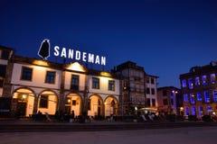 Sandeman-Keller in der historischen Mitte von Vilanova de Gaia, Portugal Stockfotos