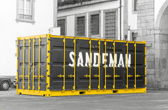 Sandeman Winery container Royalty Free Stock Image