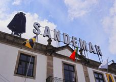 Sandeman Winery in Porto Royalty Free Stock Image