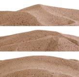 Sanden gränsar Arkivfoton