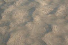 Sanden mönstrar Royaltyfri Foto