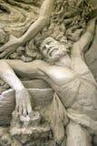 sanden skulpterar ulysses Arkivbilder