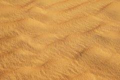 Sanden texturerar Royaltyfri Fotografi