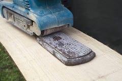 Sander Tool de madeira Imagem de Stock Royalty Free