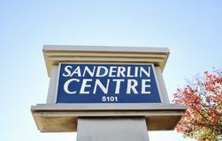 Sanderlin Centre, Memphis, Tennessee Royalty Free Stock Photos