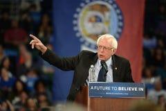 Sanders της Bernie συνάθροιση σε Άγιο Charles, Μισσούρι στοκ φωτογραφία με δικαίωμα ελεύθερης χρήσης