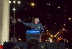Sanders της Bernie συνάθροιση - τετραγωνικό πάρκο της Ουάσιγκτον στοκ εικόνες
