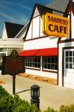 Sanders kawiarnia dom pierwszy Kentucky Fried Chicken Zdjęcie Royalty Free
