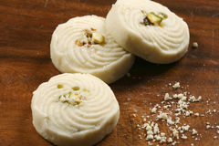 Sandesh - A Bengali sweet dish. Sandesh is traditional bengali sweet dish prepared with cottage cheese royalty free stock image