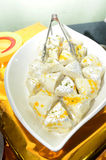 Sandesh - A Bengali sweet dish Stock Image