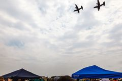 SANDF Military show at an airfield stock photo