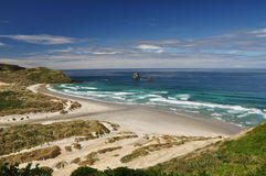 Sandfly bay Royalty Free Stock Photo