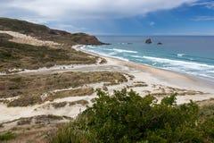 Sandfly Bay Stock Photo